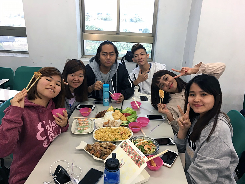 印尼與越南同學一同品嘗家鄉美食